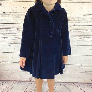 Vintage 1960s Rothschild Girls Wool Sailor Coat